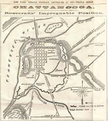 Chattanooga Map Civil War