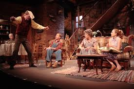 the dining room by a r gurney the foreigner hampton theatre company