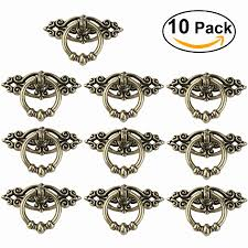 oulii 10pcs vintage kitchen cabinet cupboard dresser door drawer