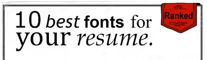 Best Fonts Resume by The 10 Best Fonts For Your Resume Infographic Eagle Staffing