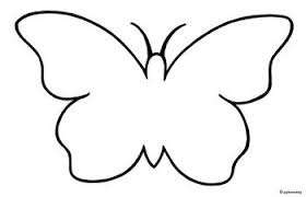 butterfly clipart outline png pencil and in color black white