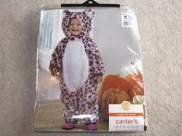 Snow Leopard Halloween Costume Carter U0027s Snuggly Snow Leopard Halloween 1 Pc Costume Toddler 6