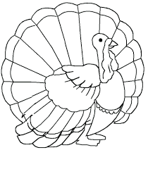 turkey coloring pages free thanksgiving sheets