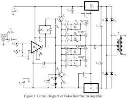 video amplifier circuit video circuits next gr