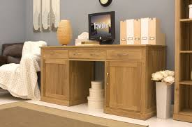 Small Desks For Home Home Office Warm Solid Oak Desks For Home Office Furniture Sets