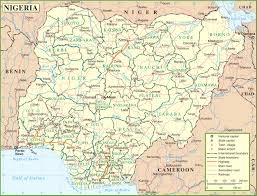 Map Of Nigeria Africa by Nigeria Road Map