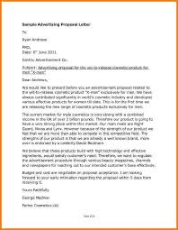 8 advertising proposal letter proposal template 2017