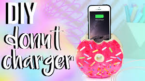 Diy by Diy Doughnut Phone Holder And Charger In This Video I U0027m