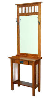 Hallway Console Table And Mirror American Mission Console Table With Mirror From Dutchcrafters