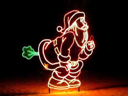 Animated Christmas Lawn Decorations by Santa Christmas Lawn Decoration Youtube