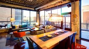 apartments inspiring industrial chic living room interior design