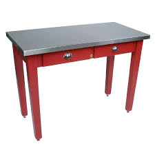 kitchen islands u0026 tables stainless steel top kitchen island with