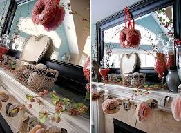 valentine u0027s day mantel decoration ideas