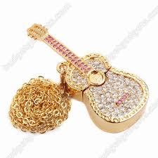 guitar necklace pendants images Flash drive necklace usb flash drive pendant memory stick necklace jpg