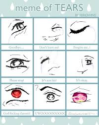 Tears Meme - meme of tears by abandonedsole on deviantart