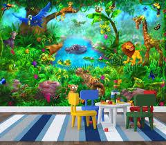 tropical rainforest wallpaper for walls bedroom ideas jungle rainforest themed classroom jungle suite room wallpaper hd bedroom safari baby ideas accessories g2a8810 for s safari animal wall