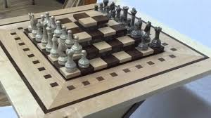 chess board table slightly different youtube