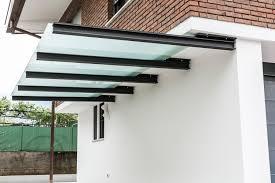 tettoia in ferro tettoia in ferro e vetro gaspari serramenti srl