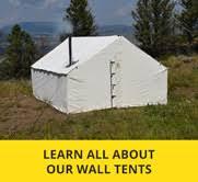 wall tent premium 12 oz canvas wall tent montana canvas