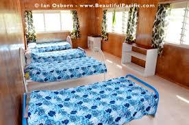Blue Dorm Room Backpacker Dorm Rooms In Rarotonga Cook Islands