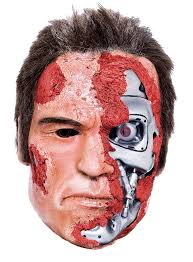 Terminator Halloween Costume Terminator 2 Judgemnt Mask