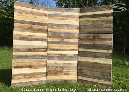 Wedding Guest Board From Pallet Wood Pallet Ideas 1001 by Saunzee Custom Recycle Pallet Wood Exhibits Pallet Wood Trade Show