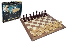 kasparov championship chess set amazon co uk toys u0026 games