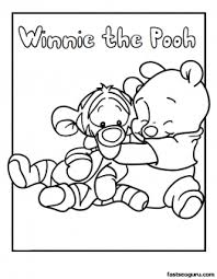 disney babies coloring pages printable pooh and tigger disney babies coloring pages printable