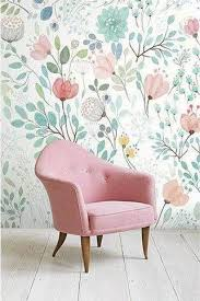 35 amazing wallpaper ideas for the living room pastel flowers