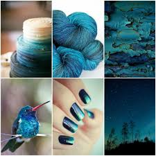 moodboard monday deep sea chipped paint color inspiration and
