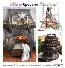 merry unique decorating upcycled style funky junk