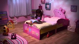 Kid Room Peppa Pig Bed Set Peppa Pig Bed Applied For Pretty Kid Room
