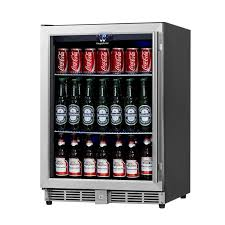 under cabinet beverage refrigerator kingsbottle 23 42 inch 5 37 cu ft undercounter beverage center