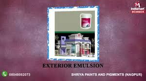 acrylic distemper and interior emulsion by shriya paints and