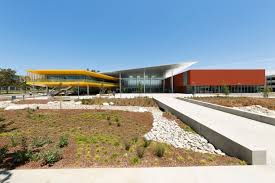 monarch architecture los angeles valley college completes new student center designed