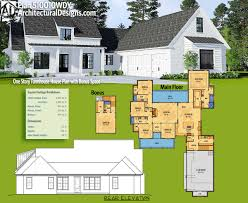 plan 510010wdy one story farmhouse house plan with bonus space