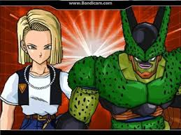android 18 and cell dx creatures 4 cell second form android no 18