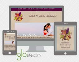 Best Wedding Invitation Websites Fall Autumn Wedding Website Email Invitation Designs