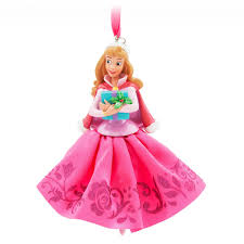 disney hallmark sleeping beauty aurora christmas ornament
