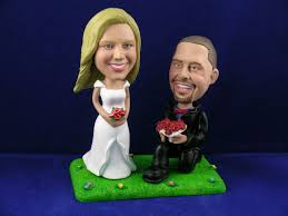 cake toppers bobblehead personalized bobbleheads custom wedding cake toppers bobble