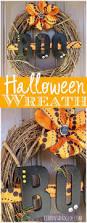 halloween boo wreath wreaths and craft