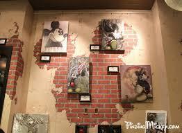 How To Paint A Faux Brick Wall - d street faux bricks hidden mickey downtown disney hidden