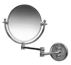 miller classic traditional 190mm round magnifying mirror 681c