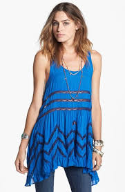 free people lace trim trapeze tunic dress available at nordstrom