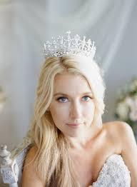 bridal crowns bridal crown swarovski wedding crown portia