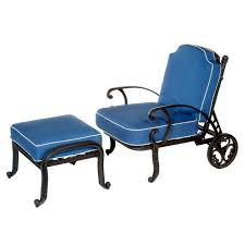 Reclining Patio Chairs by Athena Patio Reclining Club Chair