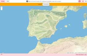 Espana Map Interactive Map Where Is It Physical Relief Of Spain Mapas