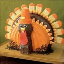 thanksgiving turkey cake recipe