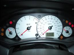 ford focus light on dashboard st170 clocks passionford ford focus rs forum discussion