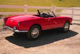 alfa romeo spider 2017 vintage car review 1957 alfa romeo giulietta spider gear patrol